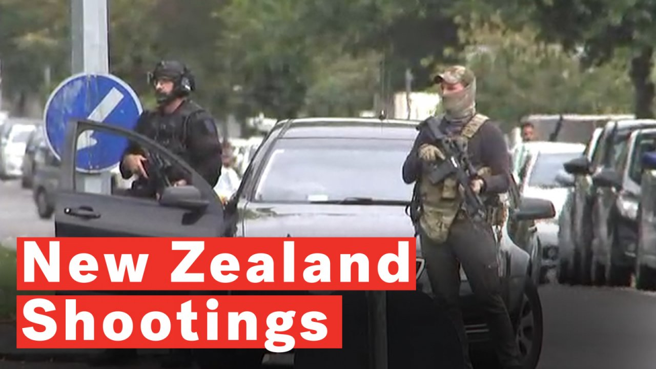 New Zealand Shootings Picture: New Zealand Shooter Shows No Signs Of Remorse And Smirks