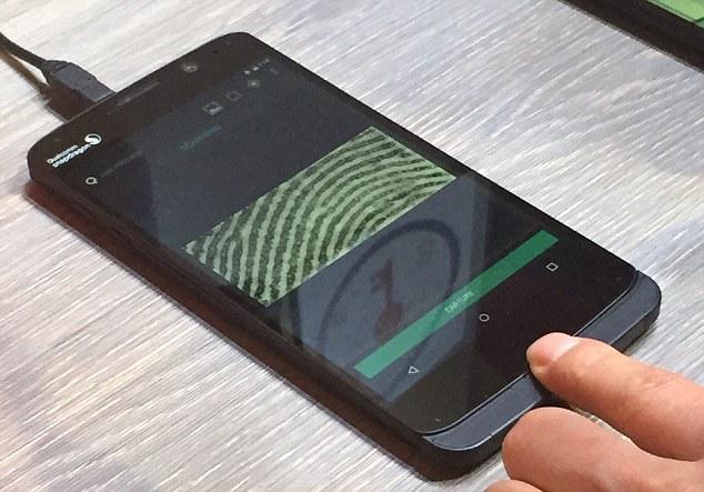 Smartphone manufacturers Apple, Samsung find fingerprint scanners