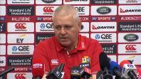 Lions coach Warren Gatland confirms that Sam Warburton will start in crucial All Blacks showdown