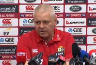 Lions coach Warren Gatland confirms that Sam Warburton will start in crucial All Blacks showdown