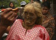 Ma'nene festival Indonesia