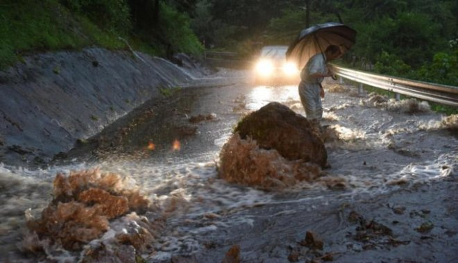 Japan floods