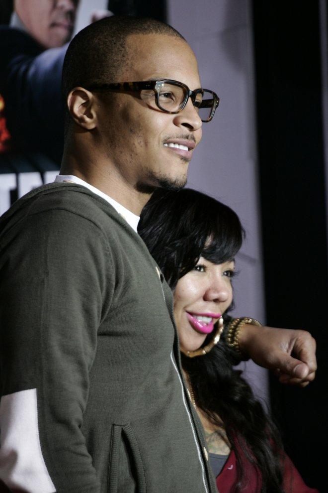 T.I and wife Tameka Tiny Cottle