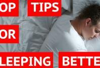 Six top tips for sleeping better