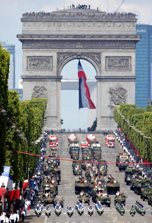 Bastille Day in France