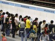 A job fair in Singapore