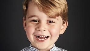 Prince George celebrates 4th birthday with official portrait