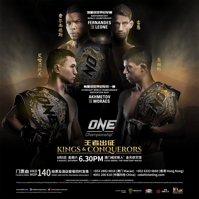 One Championship: Kings & Conquerors