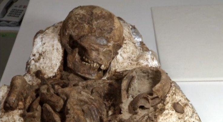 ,800-year-old remains of mother cradling her baby found in Taiwan