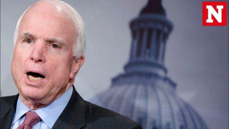 John McCains return to Senate for crucial health care vote not welcomed by Twitter