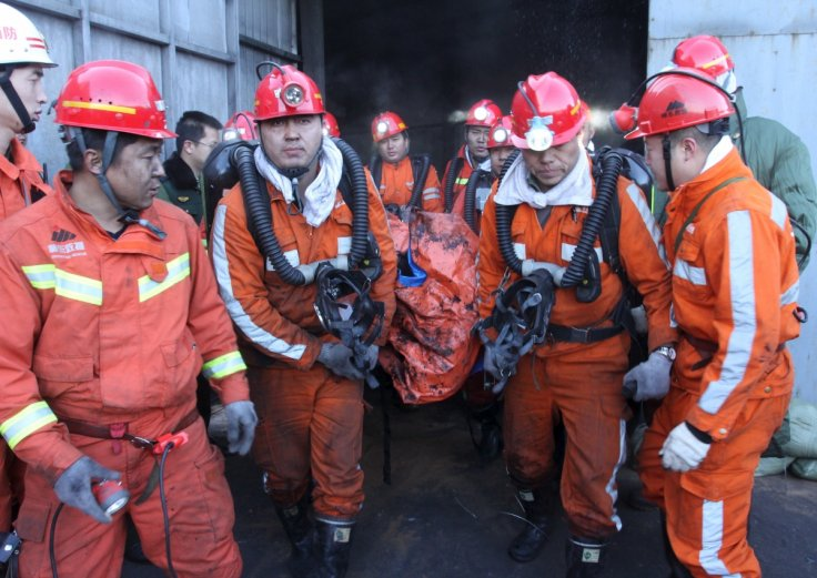 4 rescued 36 days after china mine collapse