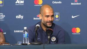 Manchester Citys Pep Guardiola says large transfer fees are here to stay