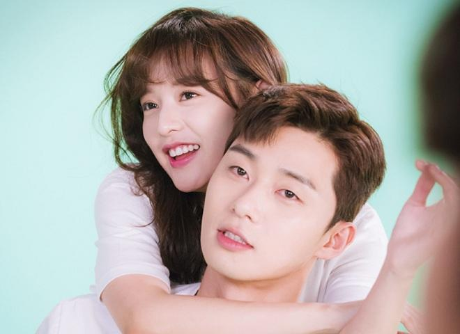 KimJi-won and Park Seo-joon
