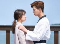 Kim Ji-won and Park Seo-joon