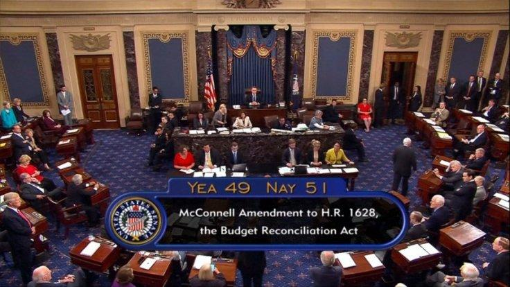 Republican bill to repeal Obamacare fails in US senate