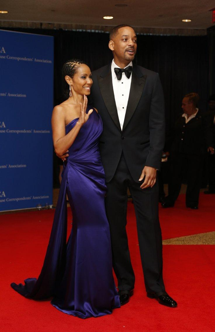 Actors Will Smith and Jada Pinkett Smith