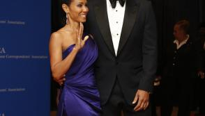 Actors Will Smith and Jada Pinkett Smith