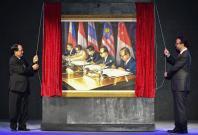 Painting for ASEAN Golden Jubilee