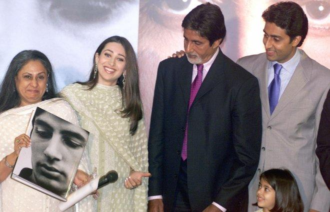 Abhishek and Karisma Kapoor