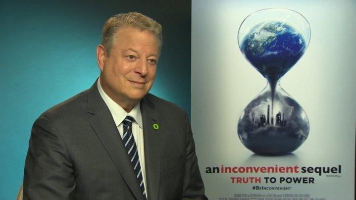 Al Gore on Trumps North Korea problem and climate change