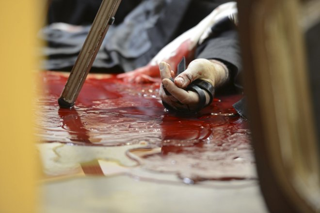 French trouble maker stabbed a Bali police officer to death