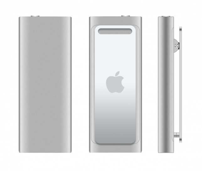 ipod shuffle third generation