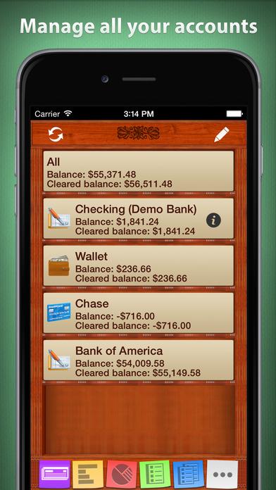 checkbook hd app for ios