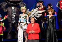 Germanys Angela Merkel opens Gamescom 2017