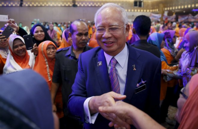 Malaysian Prime Minister Najib seeks a big win in state polls despite of corruption allegations
