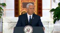 Mike Pence promises that the US will not stand by as Venezuela crumbles