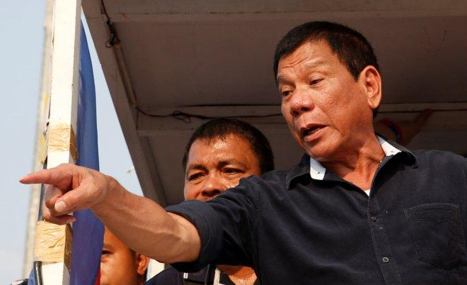 Philippine presidential candidate Duterte vows to 'butcher' criminals