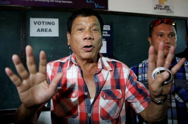 Rodrigo Duterte wins Philippines presidential elections