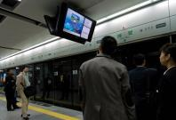 Woman rescued after floor panel caves in at Chinese subway station
