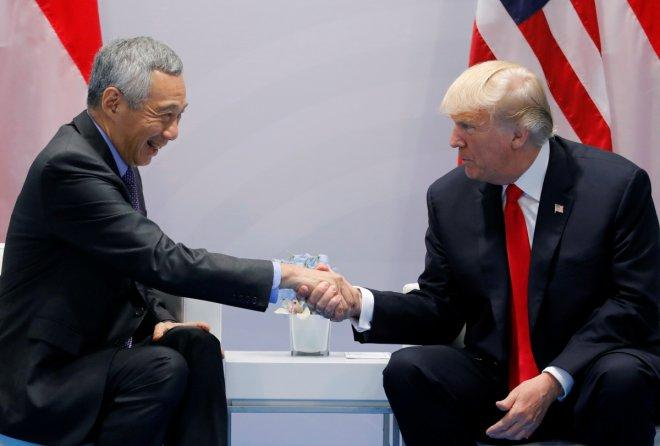 PM Lee and President Trump