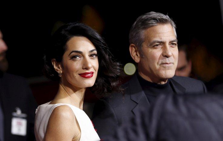 George Clooney an Amal