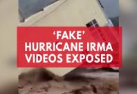 Fake Hurricane Irma videos widely shared on social media