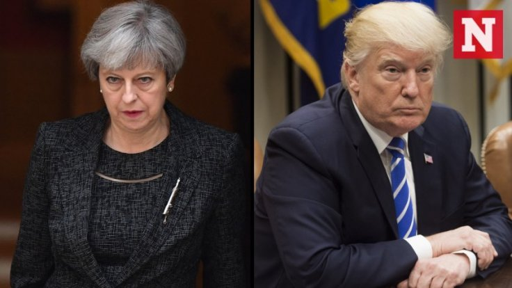 Theresa May says speculation isnt helpful after Donald Trump tweet about London bomb attack