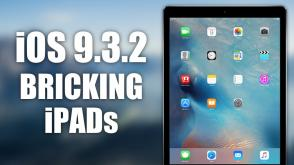 iOS 9.3.2 bricking iPads