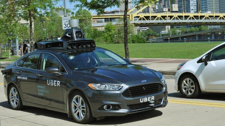 Uber self-driving car tech