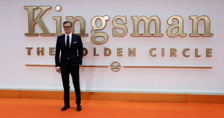 Colin Firth at the World Premiere of Kingsman: The Golden Circle