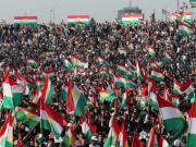40,000 Kurds hold rally for independence