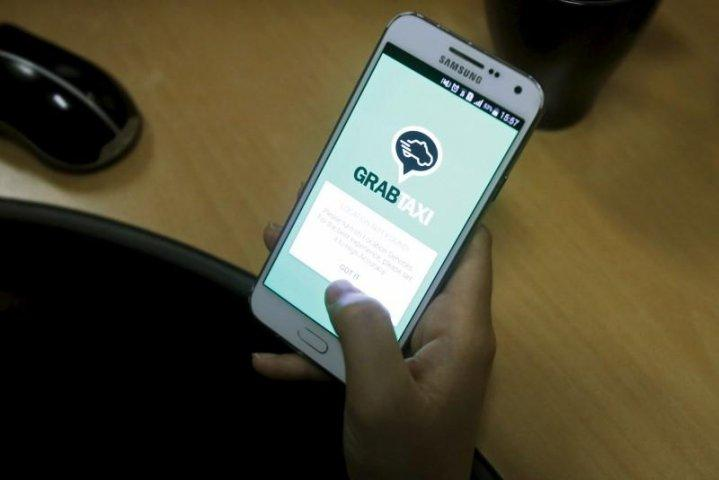 grab and here maps partnership