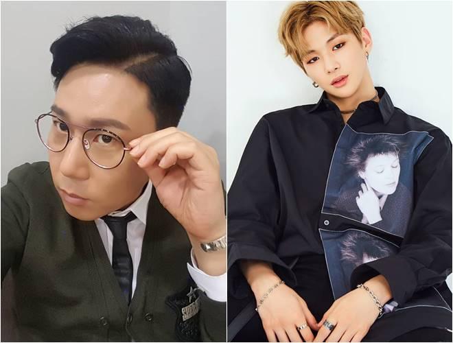 Lee Sang Min (left) and Kang Daniel