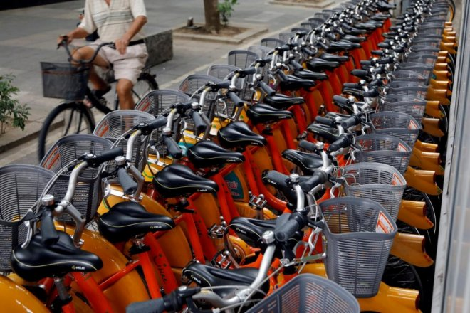 grab and obike in singapore