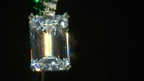 Largest ever diamond to go to auction previewed in Hong Kong