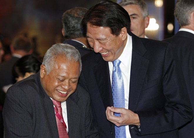 Singapore's Deputy Prime Minister Teo Chee Hean