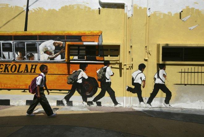 Malaysian school children