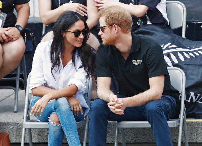 Prince Harry and girlfriend Meghan Markle