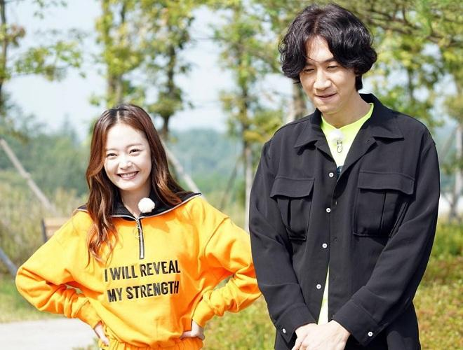 Lee Kwang-soo and Jun So-min