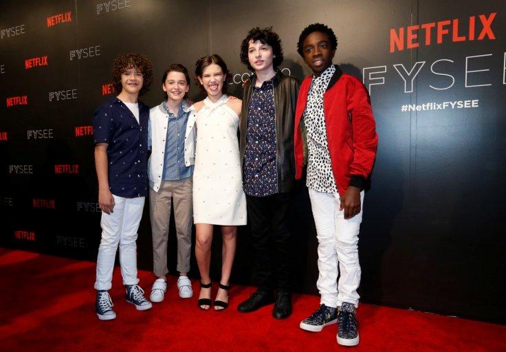 Cast of Stranger Things 2